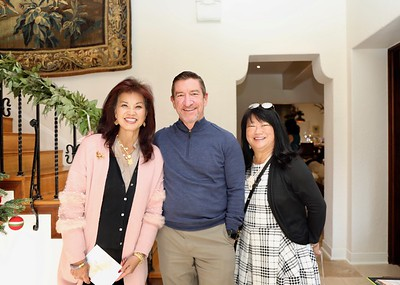 Patricia Tom Mar, Ron Serven and Mary Swanton
