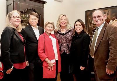 Irene Mc Dermott, Steven Huang, Rary Simmons, Gretchen Shepherd Romey, Shelley Ryan and Jim Folsom