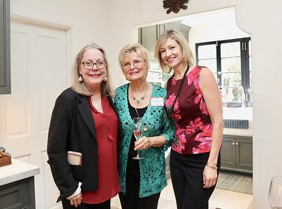 Irene Mc Dermott, Evelyn Pederson and Debra Spaulding