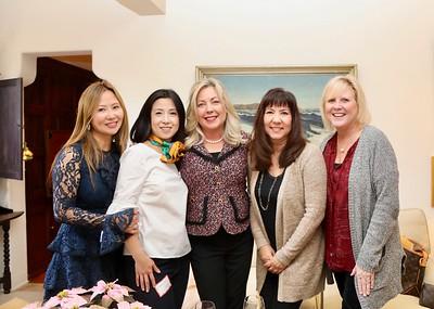 Lonnie Sanok, Genevieve Chien, Gretchen Shepherd Romey, Diane Lukas and Debbie Day