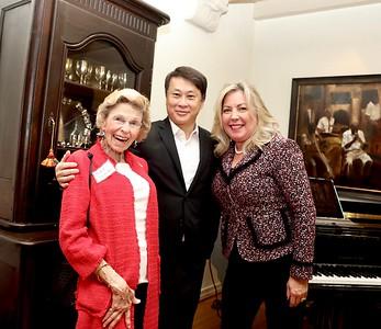 Rary Simmons, Steven Huang and Gretchen Shepherd Romey