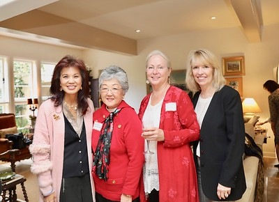 Patricia Tom Mar, Linda Parmenter, Kathleen Bescoby and Kathy Bayle