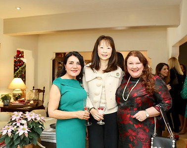 Shana Bayat, Connie Ching and Annette Ermshar
