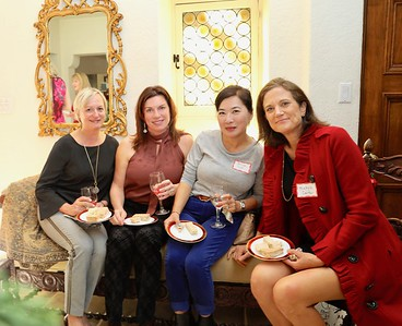 Petra Goldsmith, Birgit Woodward, Alice Song and Michele Carter