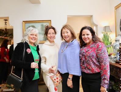 Ren Leftwich, Clarisa Ru, Diana David and Stephanie Ginn