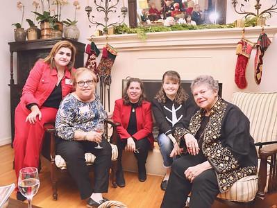 Nora Hoyos, Jo Anne Kindler, Susan Kindett, Justene Pierce and Marilyn Peck
