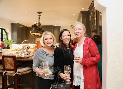 Deanna Converse, Cintia Dias and Kathleen Bescoby