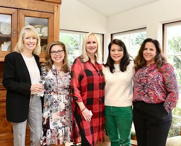 Kathy Bayle, Lynette Sohl, Wendy Gute, Julie Chan Lin and Stephanie Ginn