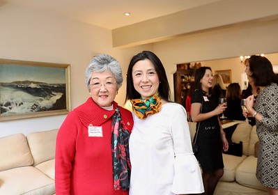 Linda Parmenter and Genevieve Chien