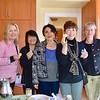 Gretchen Shepherd Romey, Mary Swanton, Shana Bayat, Mayumi Onami and Petra Goldsmith