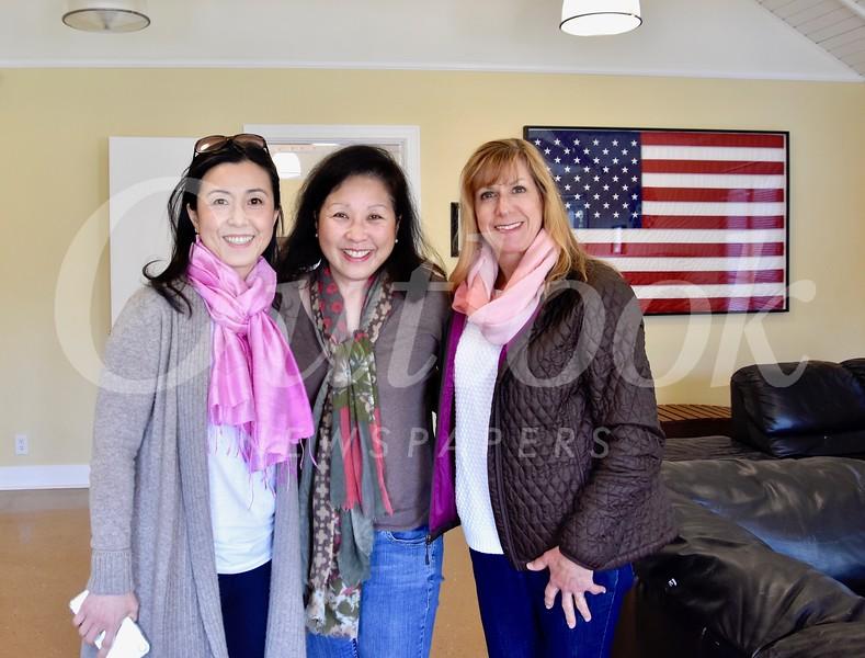 Genevieve Chien, Ann Kunitake and Maria De Jesu