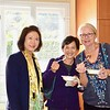 Nancy Lee, Lisa Wong and Kathleen Bescoby