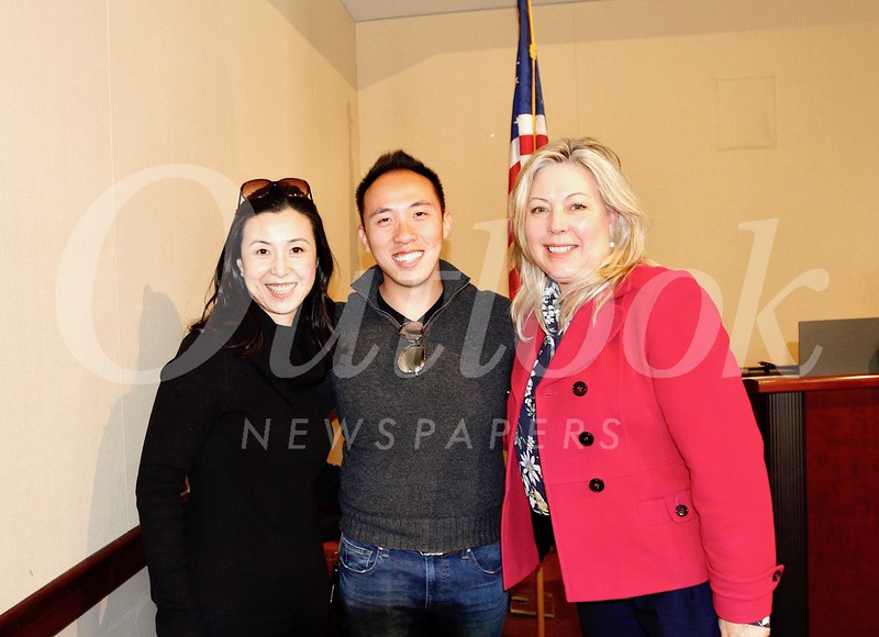 Genevieve Chien, Brandon Tam and Gretchen Shepherd Romey