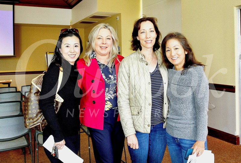 Genevieve Chien, Gretchen Shepherd Romey, Connie Knott and Karen Quon