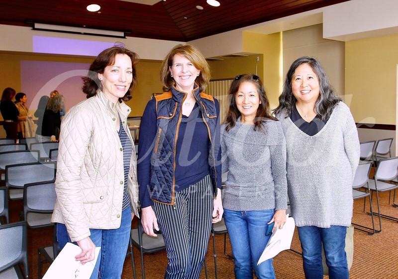 Connie Knott, Wendy Taylor Greenleaf, Karen Quon and Marian Dundas