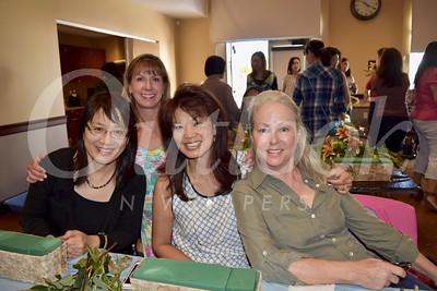 Jean Huang, Maria DeJesu, Patricia Tom Mar and Kathleem Bescoby