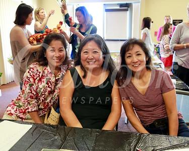 Ann Kunitake, Marian Dundes and Karen Quon