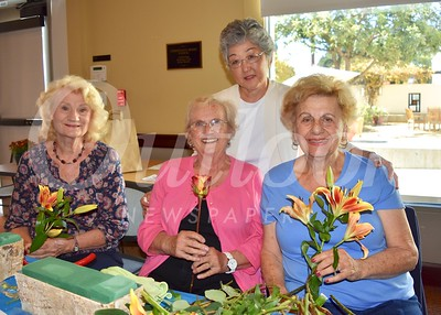 Rosanne Kusar, Terry Golden, Linda Parmenter and Marie Shiepe