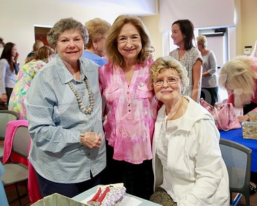 Past presidents Marilyn Peck, Maria Hein and Evelyn Pederson