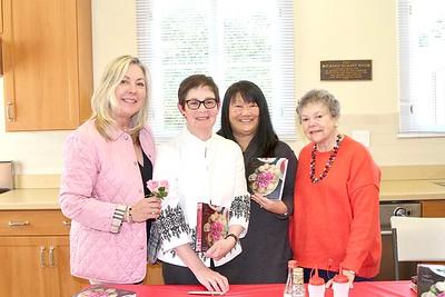 Gretchen Shepherd Romey, Judy Polinsky, Mary Swanton and Marilyn Peck