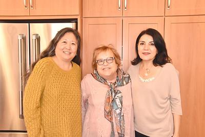 Marian Dundas, Jo Anne Kindler and Shana Bayat