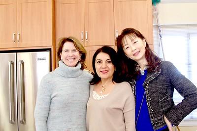 Wendy Taylor Greenleaf, Shana Bayat and Connie Ching