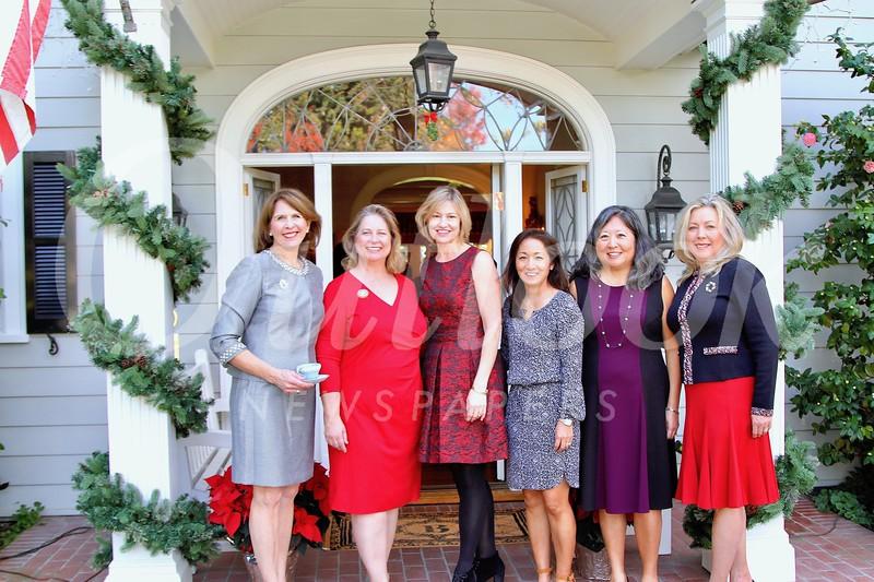 Wendy Taylor Greenleaf, Avery Barth, Debra Spaulding, Karen Quon, Marian Dundas and Gretchen Shepherd Romey
