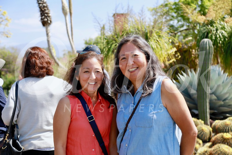 Karen Quon and Marian Dundas