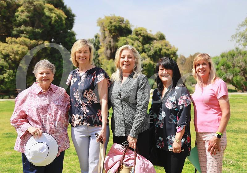 Marilyn Peck, Debra Spaulding, Gretchen Shepherd Romey, Mary Swanton and Maria De Jesu