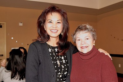 Patricia Tom Mar and Marilyn Peck