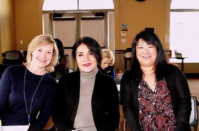 Debra Spaulding, Shana Bayat and Mary Swanton