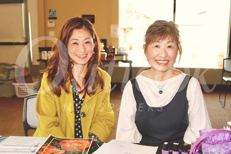 Naomi Heller and Mayumi Onami
