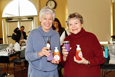 Kathy Miller and Marilyn Peck