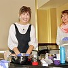 Mayumi Onami enjoying making bath bombs with Maria De Jesu
