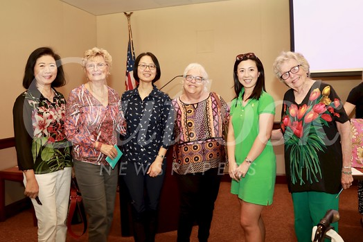 Nancy Lee, Evelyn Pederson, Ming Jiang, Anne Kindler, Genevieve Tso and Mary Modjeski