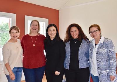 Ileana Mutch, Avery Barth, Genevieve Chien, Stephanie Ginn and Lynette Sohl