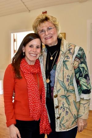 Amanda Abrams and Evelyn Pederson