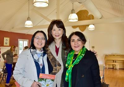 Ming Jiang, Connie Ching and Shana Bayat