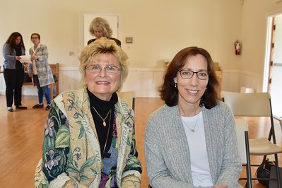 Evelyn Pederson and Connie Knott