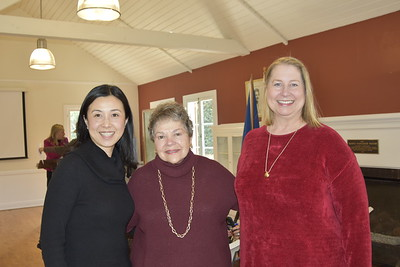 Genevieve Chien, Marilyn Peck and Avery Barth