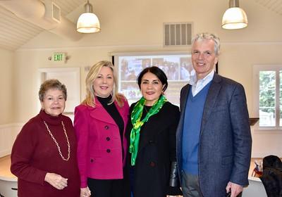Marilyn Peck, Gretchen Shepherd Romey, Shana Bayat and guest speaker Richard Schulhof