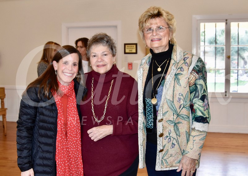 Amanda Abrams, Marilyn Peck and Evelyn Pederson