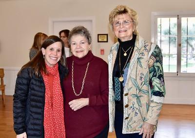 Amanda Abrams, Marilyn Peck and Evelyn Pederson