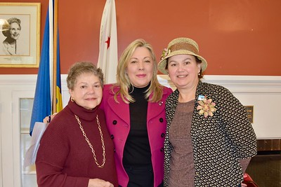 Marilyn Peck, Gretchen Shepherd Romey and Shirley Jagels