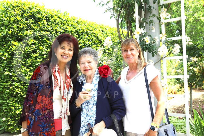 Patricia Tom Mar, Marilyn Peck and Maria De Jesu