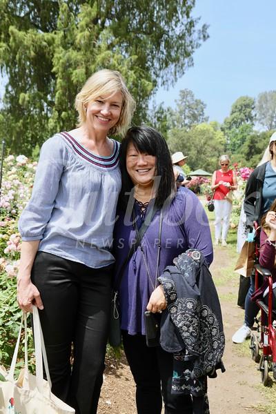 Debra Spaulding and Mary Swanton