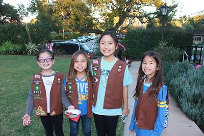 8579 Alison Tam, Kayla Wu, Olivia Yamamoto and Piper Tseng