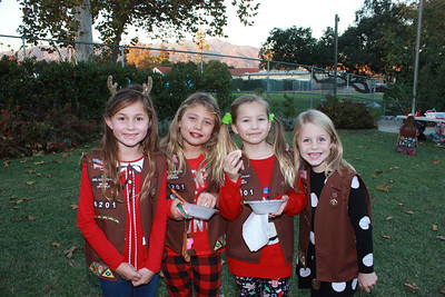 8593 Lexi Merryman, Juliet Repstad, Alice Todd and Emily McCroskey