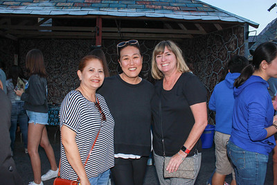 Aixha Gomez, Diana Glasse and Heidi Derrick