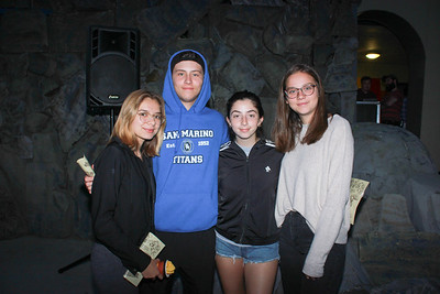 Jen Martinez, Noah Herrera, Paris Pirzada and Grace Carter